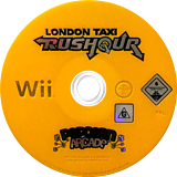 London Taxi: Rush Hour Wii disc (RLTXUG)