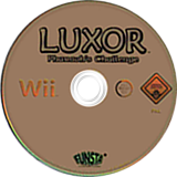 Luxor: Pharaoh's Challenge Wii disc (RLXP36)