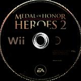 Medal of Honor: Heroes 2 Wii disc (RM2U69)