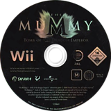 The Mummy: Tomb Of The Dragon Emperor Wii disc (RM5P7D)