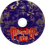 Monster Lab Wii disc (RM7P4F)