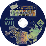 Nicktoons: Attack Of The Toybots Wii disc (RN3X78)