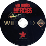 No More Heroes Wii disc (RNHP99)