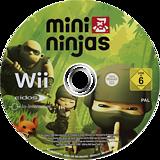 Mini Ninjas Wii disc (RNJP4F)