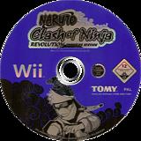 Naruto: Clash of Ninja Revolution Wii disc (RNXPDA)