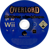 Overlord: Dark Legend Wii disc (ROAP36)