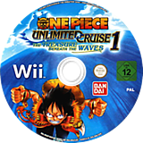 One Piece Unlimited Cruise 1: The Treasure Beneath the Waves Wii disc (ROUPAF)