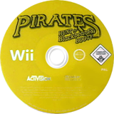 Pirates: Hunt for Blackbeard's Booty Wii disc (RP7P52)