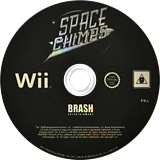 Space Chimps Wii disc (RP9PRS)