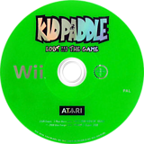 Kid Paddle: Lost in the Game Wii disc (RPAF70)