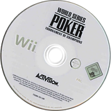 World Series of Poker: Tournament of Champions 2007 Edition Wii disc (RPKP52)