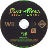 Prince of Persia: Rival Swords Wii disc (RPPP41)