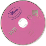 Disney Princess: Enchanted Journey Wii disc (RPSP4Q)