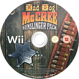 Mad Dog McCree Gunslinger Pack Wii disc (RQ5X5G)