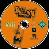 Rayman Raving Rabbids Wii disc (RRBP41)