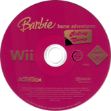 Barbie Horse Adventures: Riding Camp Wii disc (RRCP52)