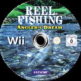Reel Fishing: Angler's Dream Wii disc (RRFPE9)