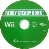 Ready Steady Cook: The Game Wii disc (RRJPMR)