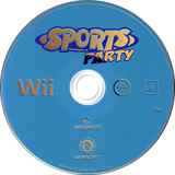 Sports Party Wii disc (RSUP41)