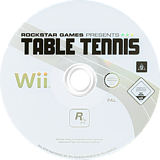 Rockstar Games Presents: Table Tennis Wii disc (RT3P54)
