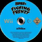 Rapala Fishing Frenzy Wii disc (RTBP52)