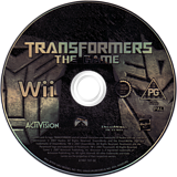 Transformers: The Game Wii disc (RTFP52)