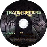 Transformers: The Game Wii disc (RTFX52)