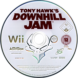 Tony Hawk's Downhill Jam Wii disc (RTHP52)