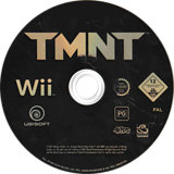 TMNT: Teenage Mutant Ninja Turtles Wii disc (RTMP41)