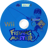 Fishing Master Wii disc (RTRP18)