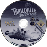 Thrillville: Off The Rails Wii disc (RTVP64)