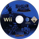 Zack & Wiki: Quest For Barbaros' Treasure Wii disc (RTZP08)