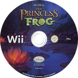 Disney: The Princess and the Frog Wii disc (RU5V4Q)