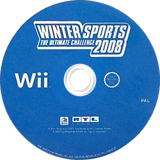 Winter Sports 2008: The Ultimate Challenge Wii disc (RUCXRT)