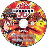 Bakugan Battle Brawlers Wii disc (RUHP52)