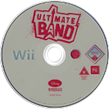 Ultimate Band Wii disc (RULP4Q)