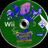 SpongeBob SquarePants Featuring Nicktoons: Globs of Doom Wii disc (RUSX78)