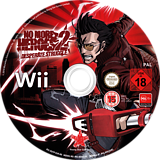 No More Heroes 2: Desperate Struggle Wii disc (RUYP99)