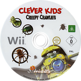 Clever Kids: Creepy Crawlies Wii disc (RV3P6N)