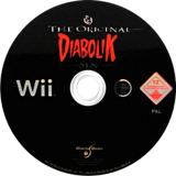 Diabolik: The Original Sin Wii disc (RVDPLG)