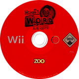 Margot's Word Brain Wii disc (RVGP78)