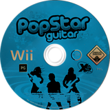 PopStar Guitar Wii disc (RVPPFS)