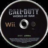 Call of Duty: World at War Wii disc (RVYD52)