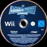 WWE SmackDown vs. Raw 2009 Wii disc (RW9X78)