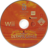 Mario & Sonic at the Olympic Games Wii disc (RWSP8P)