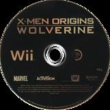 X-Men Origins: Wolverine Wii disc (RWUX52)