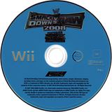 WWE SmackDown vs. Raw 2008 Wii disc (RWWP78)