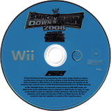 WWE SmackDown vs. Raw 2008 Wii disc (RWWX78)