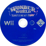 Wonder World Amusement Park Wii disc (RWZP5G)