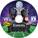 Casper's Scare School: Spooky Sports Day Wii disc (RX4PMT)